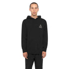 Load image into Gallery viewer, HUF Essentials Triple Triangle Pullover Hoodie Mens Hoodie Black