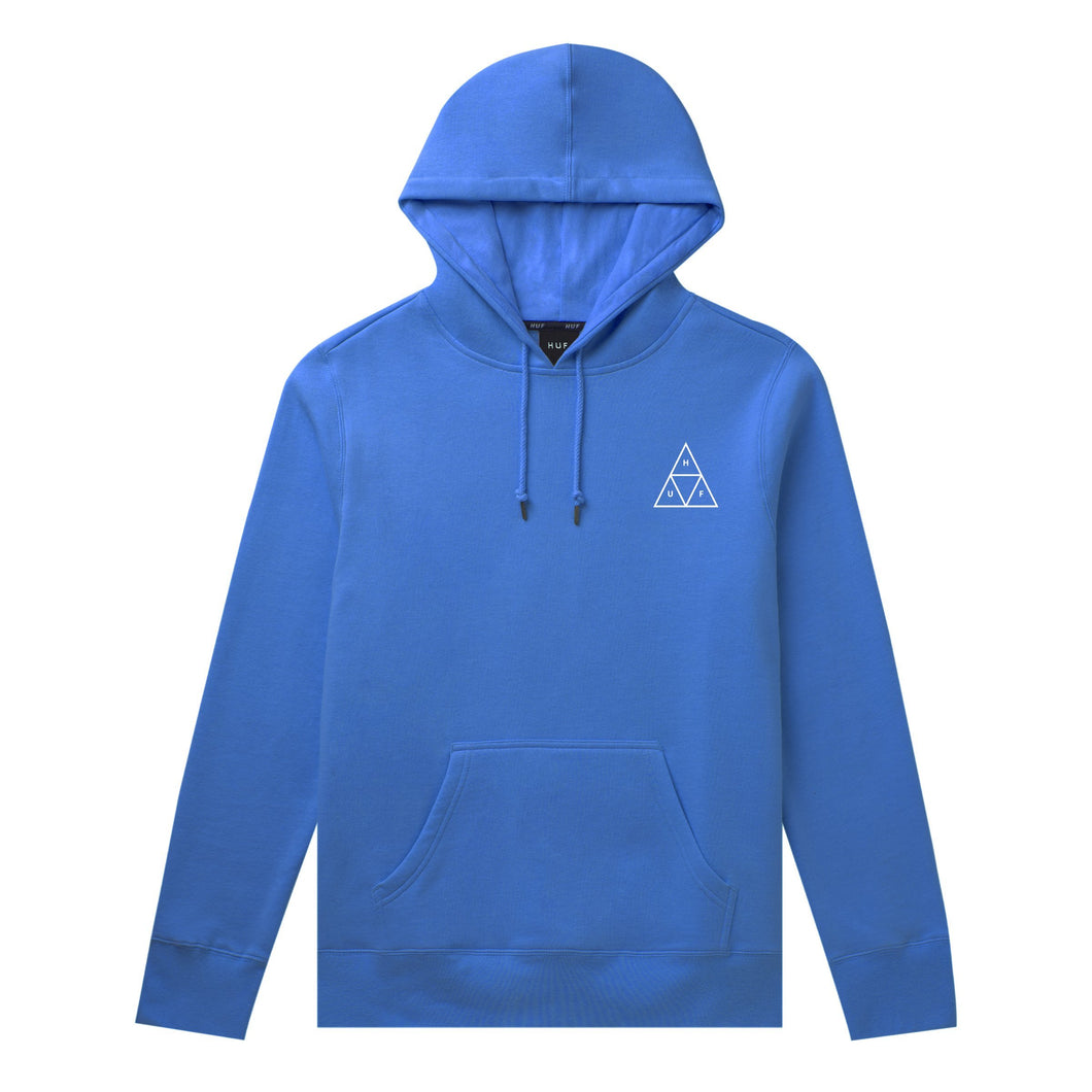 HUF Essentials Triple Triangle Pullover Hoodie Mens Hoodie Nebulas Blue