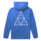 Load image into Gallery viewer, HUF Essentials Triple Triangle Pullover Hoodie Mens Hoodie Nebulas Blue