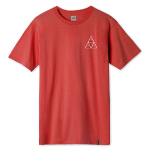 HUF Mens Triple Triangle T-Shirt Cayenne