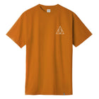 Load image into Gallery viewer, HUF Mens Triple Triangle T-Shirt Cayenne