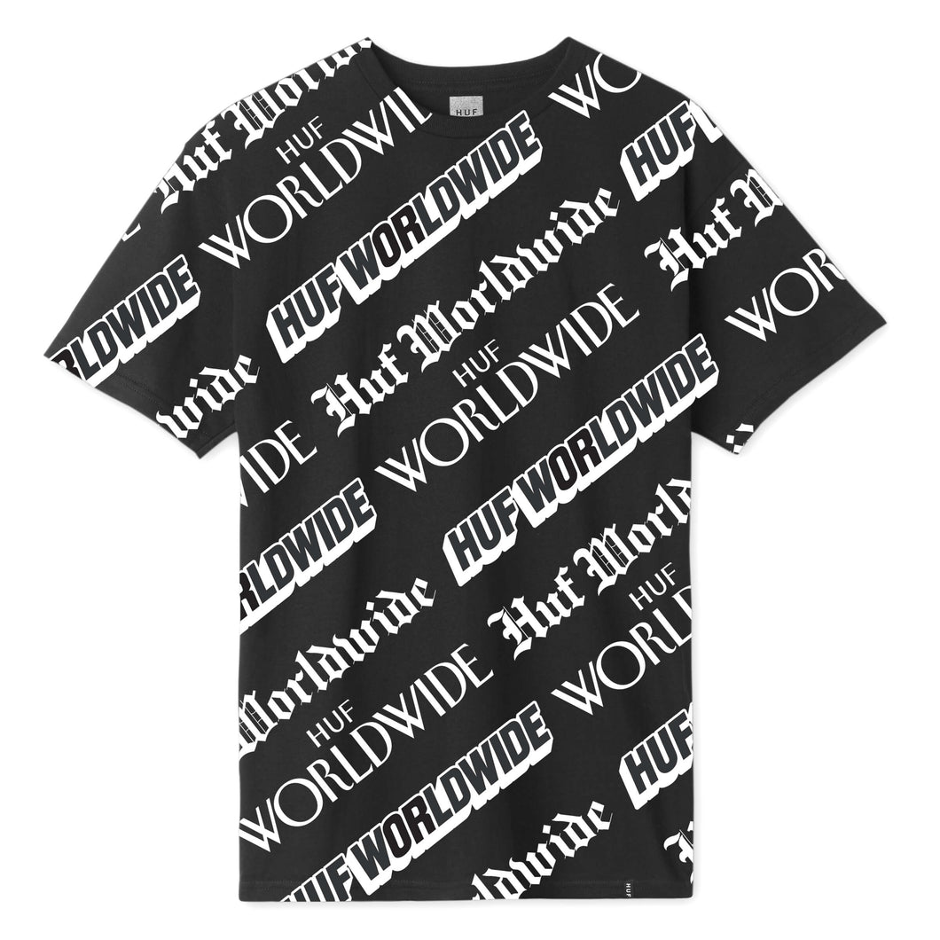 HUF Fake News T-Shirt Black