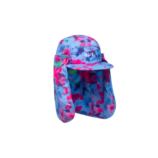 HUF ELLIS CURVED VISOR 6 PANEL CORAL PINK