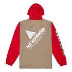 Load image into Gallery viewer, Huf Flags Anorak Jacket Cyber Red