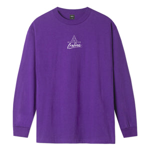 HUF Forbidden Domain Long Sleeve T-Shirt Grape