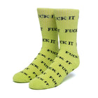 Load image into Gallery viewer, HUF Fuck It Sock Huf Green