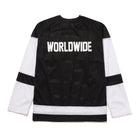 Load image into Gallery viewer, HUF Fulton Long Sleeve Jersey Black