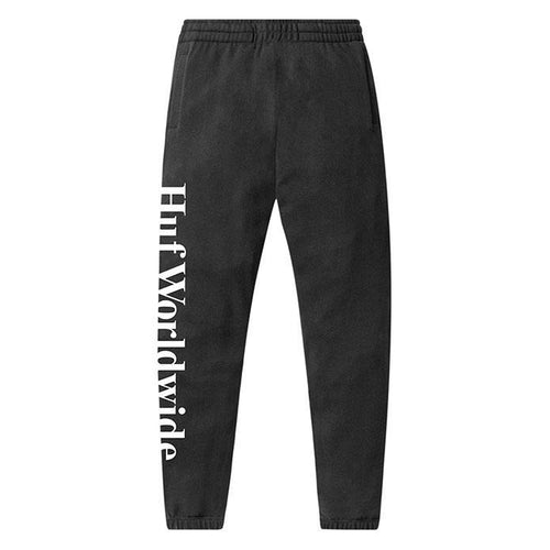HUF Essentials Fleece Pant Mens Jogger Black