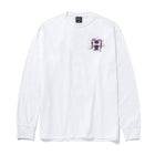 Load image into Gallery viewer, HUF Giga Melted Long Sleeve T-Shirt White