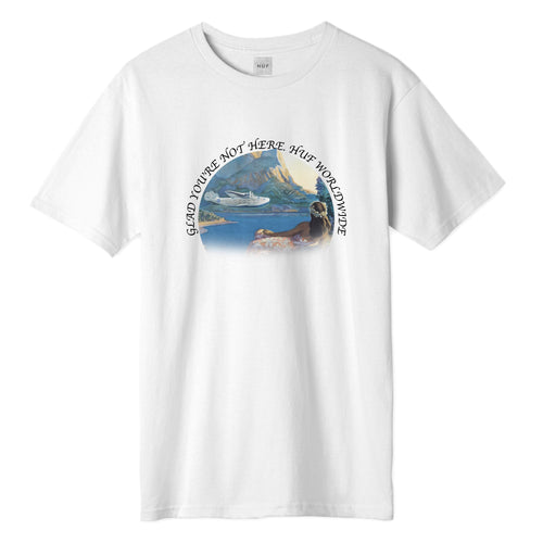 HUF Glad You're Not Here T-Shirt White
