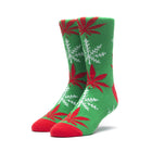 Load image into Gallery viewer, HUF Glow Flake Plantlife Sock Mens Sock Green