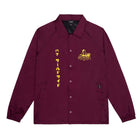 Load image into Gallery viewer, HUF GODZILLA COACH JACKET PLUM