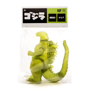 HUF GODZILLA COLLECTORS TOY HUF GREEN