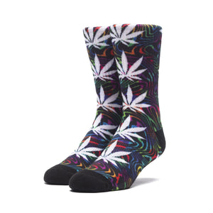 HUF Good Trip Plantlife Sock Mens Sock Black