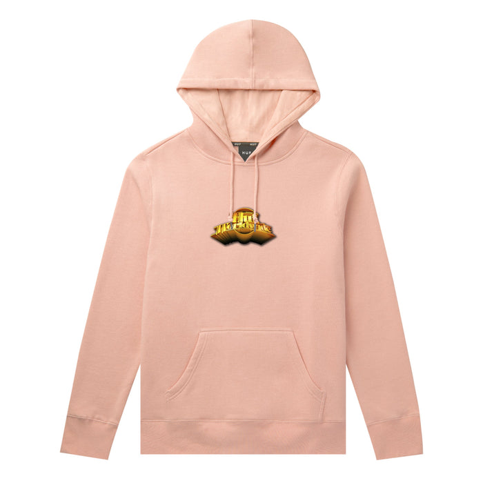 HUF Greatest Hits Classic H Hoodie Coral Pink