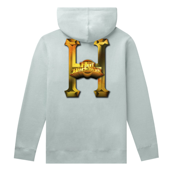 HUF Greatest Hits Classic H Hoodie Harbor Grey