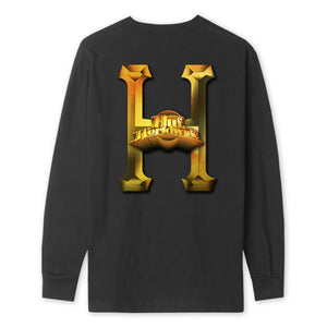 HUF Greatest Hits Long Sleeve T-Shirt Mens LS Tee Black