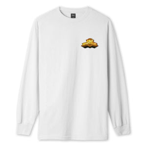 HUF Greatest Hits Long Sleeve T-Shirt Mens LS Tee White