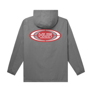 HUF Harlem Anorak Jacket Harbor Grey
