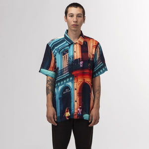 HUF Havana Resort Shirt Mint