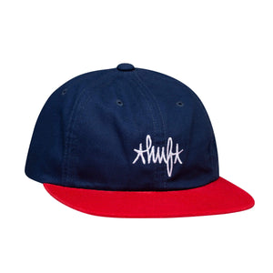 Huf Haze Contrast 6 Panel Hat French Navy
