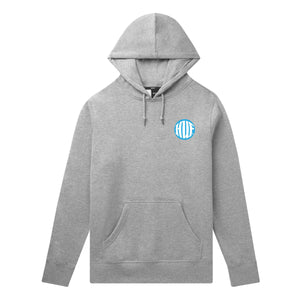 HUF High Definition Hoodie Mens Hoodie GREY HEATHER