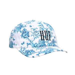 HUF Highline Curved Visor Hat White