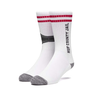 Huf House Arrest Sock White