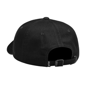 HUF Huf FTW Patch Curved Visor Hat Black