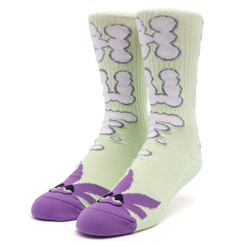 Huf N Puff Buddy Sock Mint