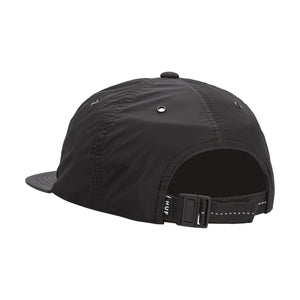 HUF HUF Offset 6 Panel Hat Black