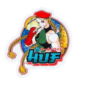 Huf Huf Street Fighter Sticker Set Multi