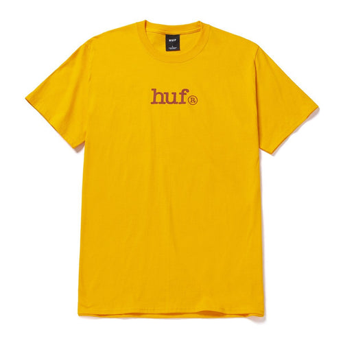 HUF Huf Type T-Shirt Gold