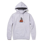 Load image into Gallery viewer, HUF HUF VS GODZILLA PULLOVER HOODIE GREY HEATHER