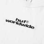 Load image into Gallery viewer, HUF HUF Worldwide EMB Long Sleeve T-Shirt Womens LS Shirt White