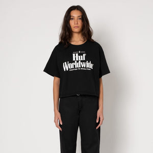 Womens HUF Worldwide Short Sleeve T-Shirt