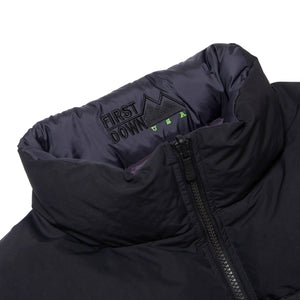HUF X First Down Jacket Black/Black