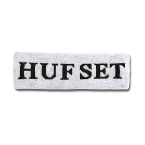 HUF Hufset Headband White
