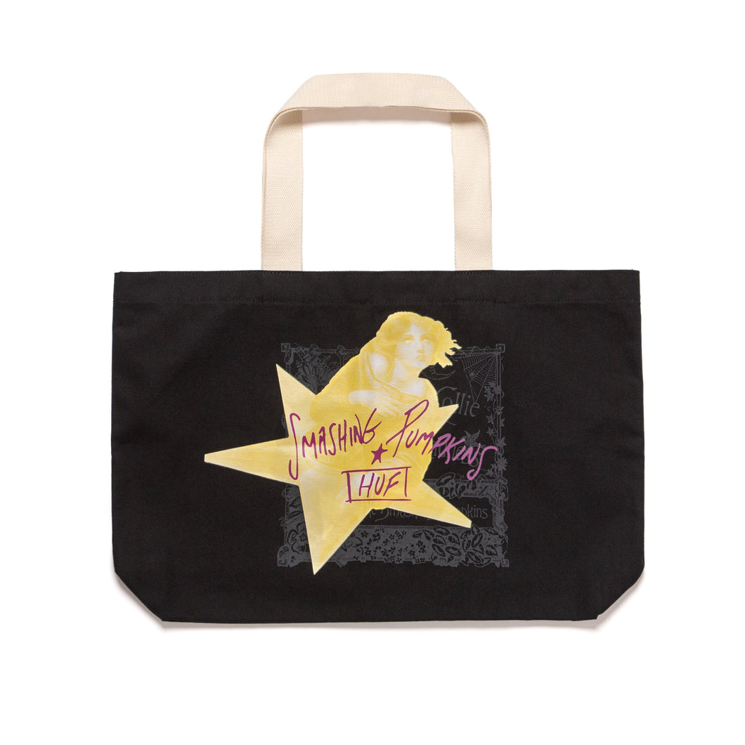 HUF INFINITE SADNESS TOTE BAG BLACK