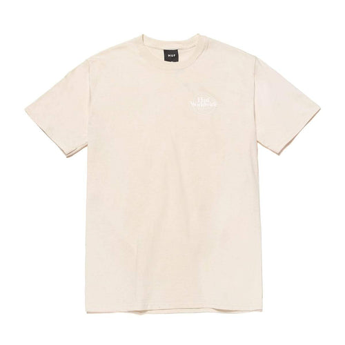 Huf Issues Logo Puff T-shirt Unbleached