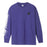 HUF ITSALIVING WW LONG SLEEVE T-SHIRT MENS LS TEE PURPLE