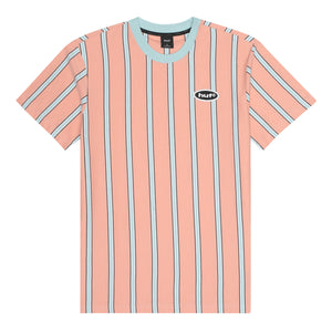 HUF Jerome YDS Short Sleeve Knit Coral Pink
