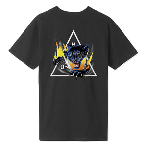 HUF Jungle Cat Triple Triangle T-Shirt Black