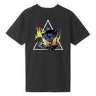 Load image into Gallery viewer, HUF Jungle Cat Triple Triangle T-Shirt Black