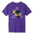 Load image into Gallery viewer, HUF Jungle Cat Triple Triangle T-Shirt Grape