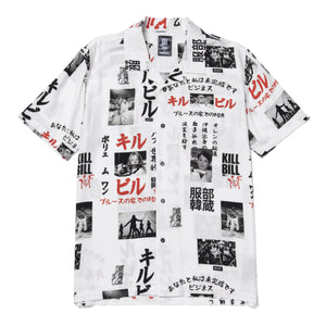 Huf Kill Bill Short Sleeve Woven Shirt White