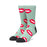 HUF KISS SOCK MENS SOCK BERYL GREEN