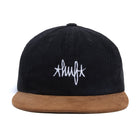 Load image into Gallery viewer, HUF Landmark Cord 6 Panel Hat Black