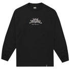 Load image into Gallery viewer, HUF Last Caress Long Sleeve T Shirt Mens Black