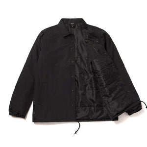 HUF Marka Coach Jacket Black